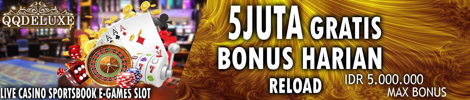 bonus judi online terbaik